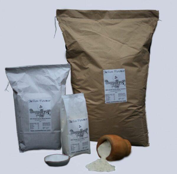 Sicilian Flavour Flour packages of 1, 5 and 25 Kg