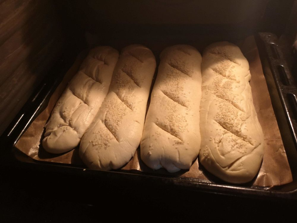 Durum wheat rimacinato bread dough