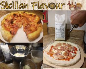 Semolina/rimacinata only Sicilian pizza
